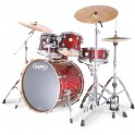 BATERIA MAPEX MERIDIAN BIRCH MR5225CY.TRANSPARENT CHERRY RED.